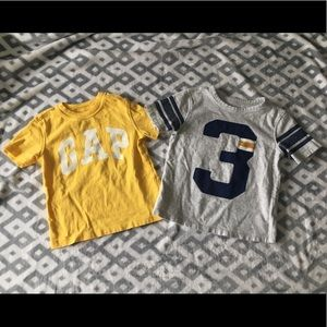 •bundle• 2t babyGap short sleeve shirts
